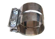 exhaust sleeve clamps / muffler band clamps