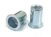 flat head round body rivet nuts