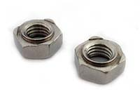 stainless steel hex weld nuts