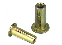 Pre-bulbed Slotted Body Rivet Nuts