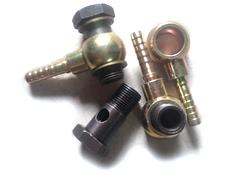 oil feed banjo bolts set